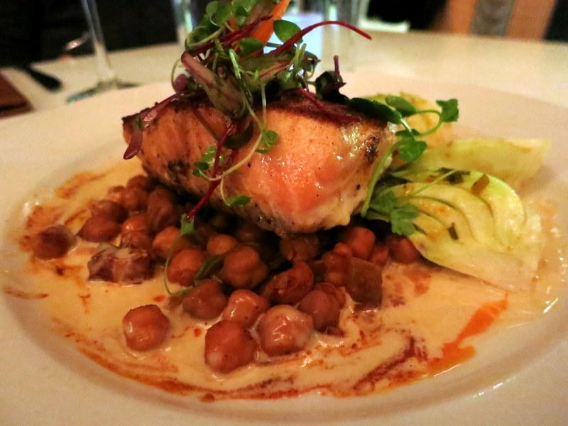 Sauteed Salmon ($19)
