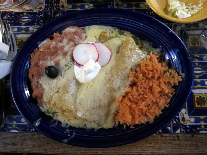 Enchiladas Suizas ($11 - $15.50)