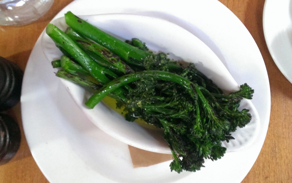 Charred Broccoli Gremolata - $6