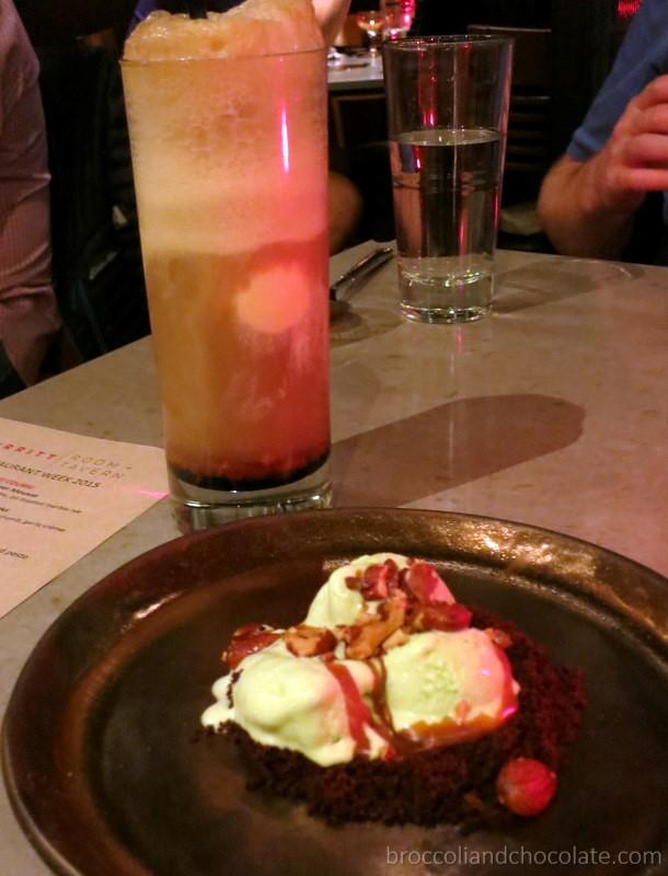 Root Beer Float + Grasshopper Pie