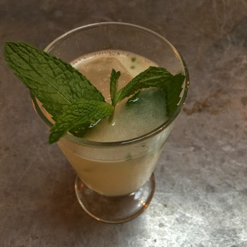 South Side Cocktail - Gin, lemon, sugar, mint, seltzer --$9